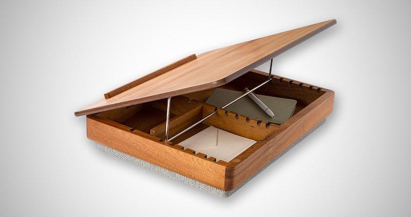 LapGear Acacia Wood Lap Desk