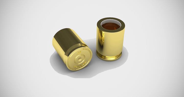 The Original Bullet Shot Glass