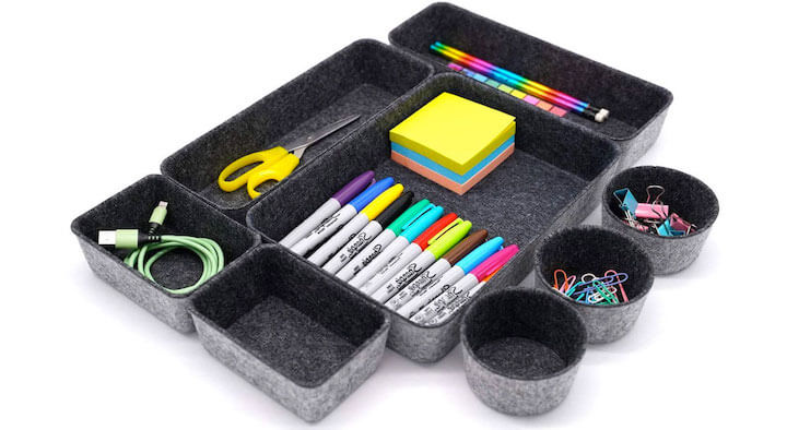 Welaxy Desk Drawer Organizers