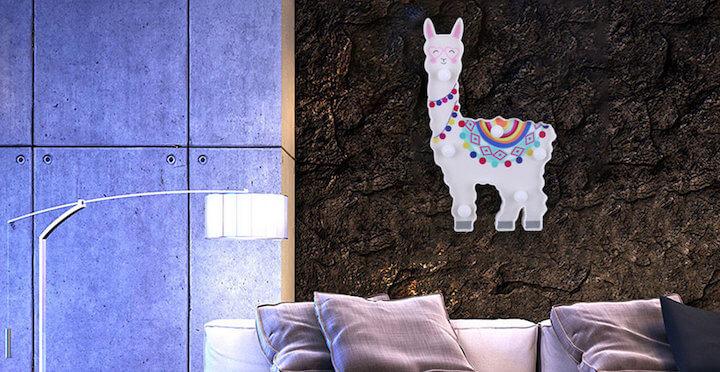 Llama Night Light