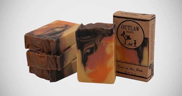 Outlaw Gunpowder Campfire Soap