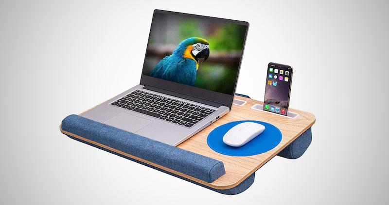 Oversized Lap Desk with Cushion