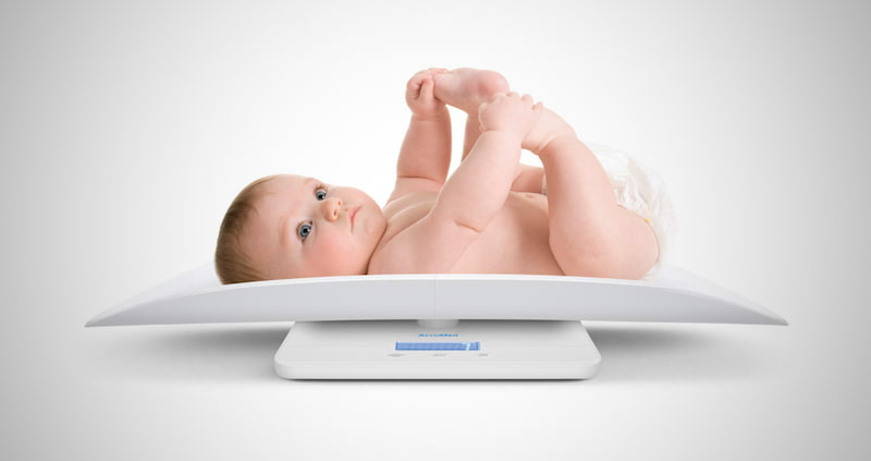 AccuMed Baby Scale