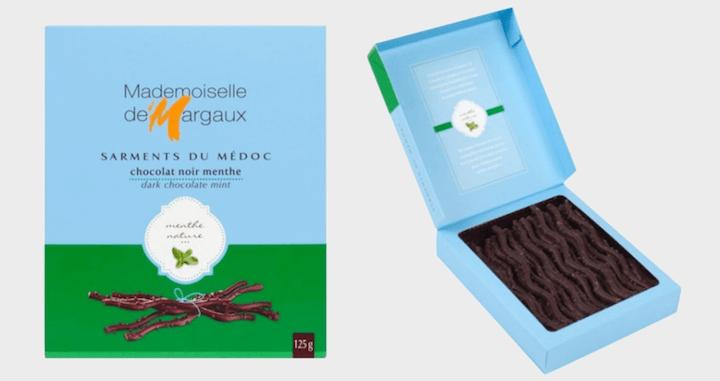 Mademoiselle de Margaux Dark Chocolate Twigs