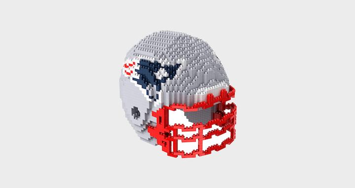 FOCO NFL 3D Construction Blocks Set