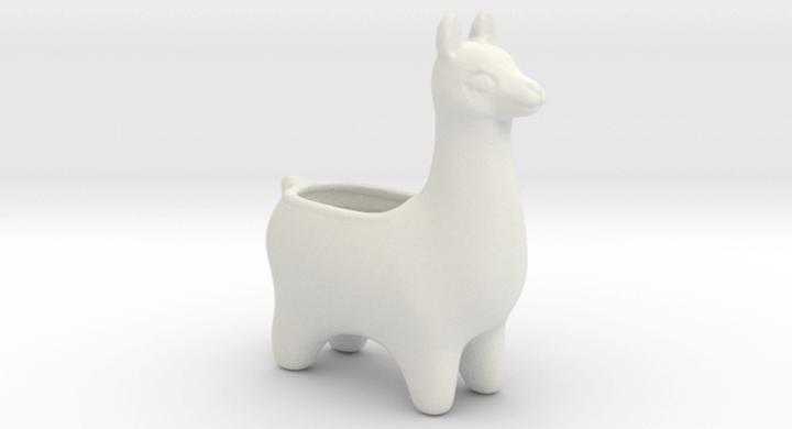 Ceramic Llama Succulent Planter Pots