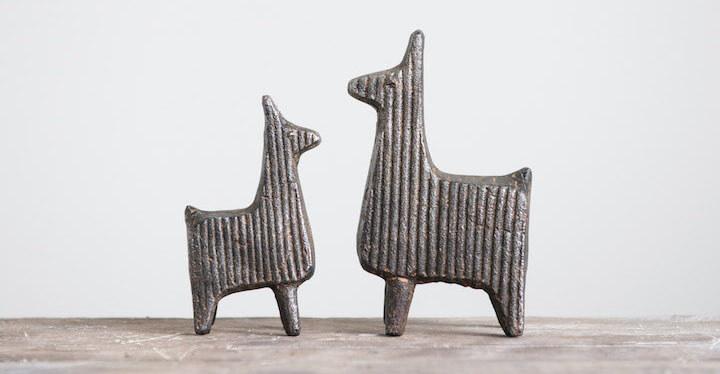 Cast Iron Llama Bookend