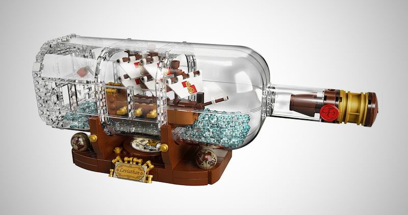 Ship in a Bottle Building Kit