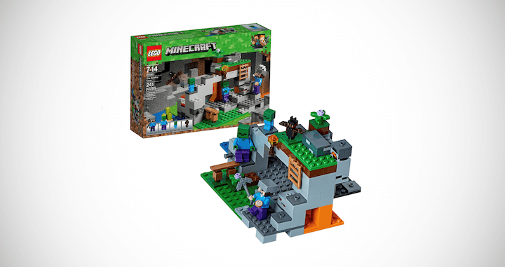 The Zombie Cave LEGO Building Kit