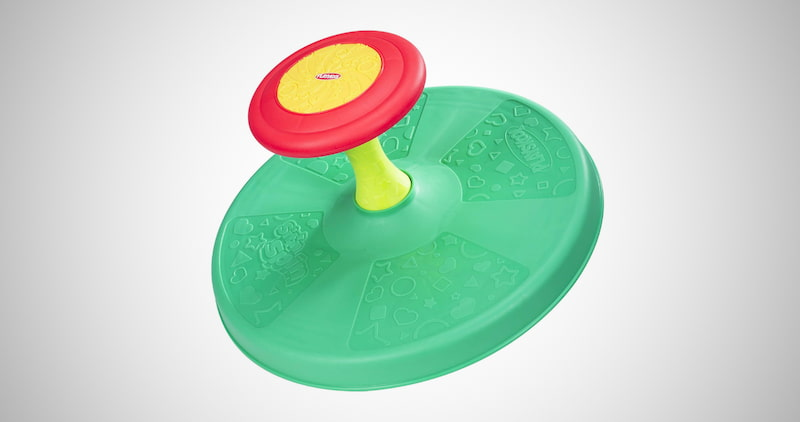 Playskool Sit 'n Spin Classic Spinning Toy