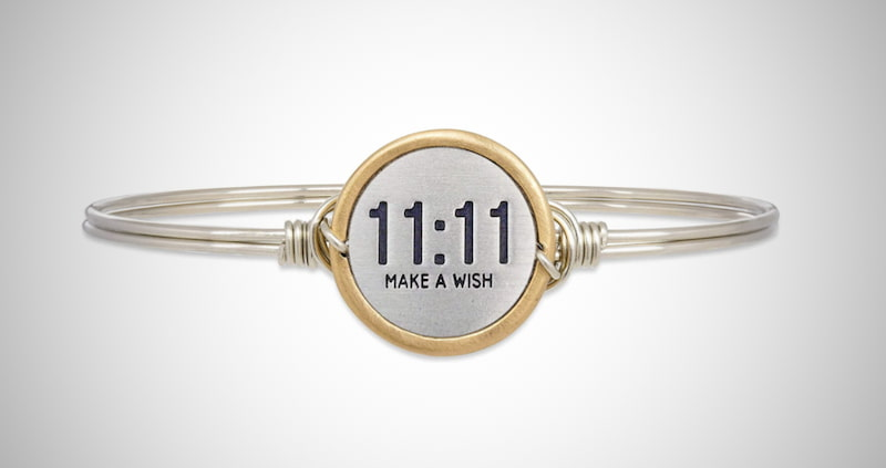 Make A Wish Bangle Bracelet