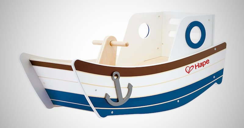 Hape Classic Wood Ship