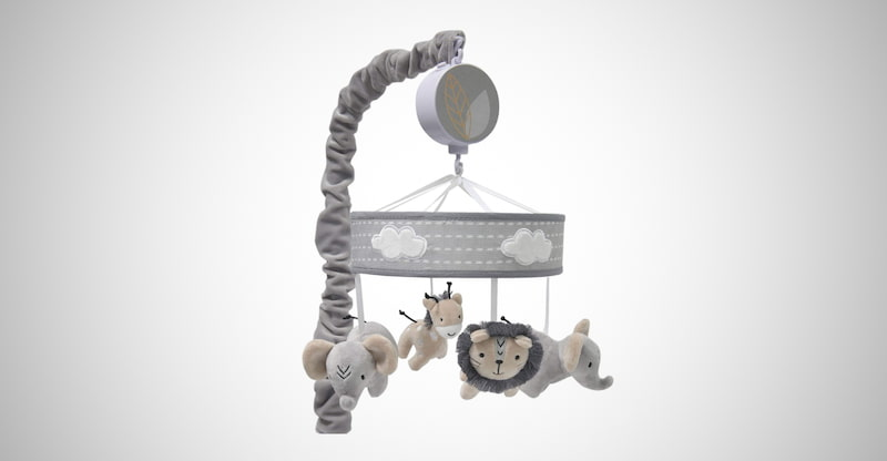 Lambs & Ivy Musical Baby Crib Mobile