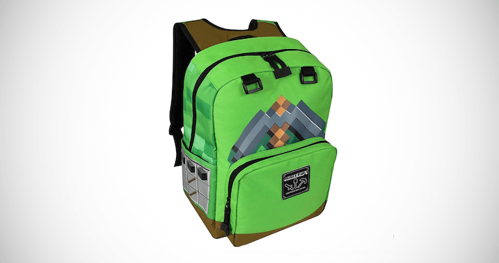 Pickaxe Adventure Kids School Backpack