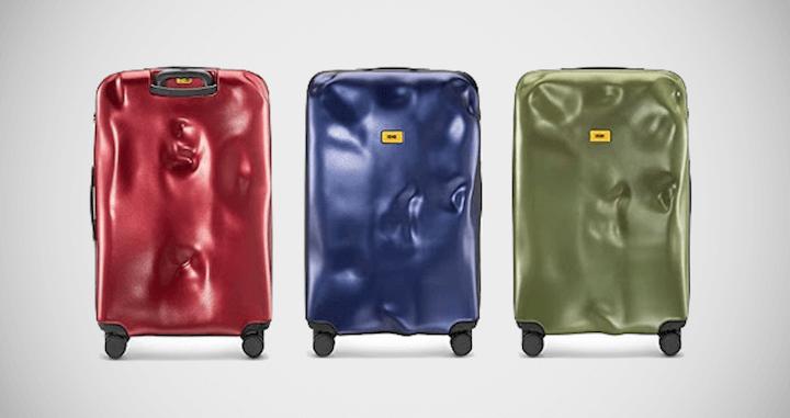Crash Baggage Icon Trolley Suitcase