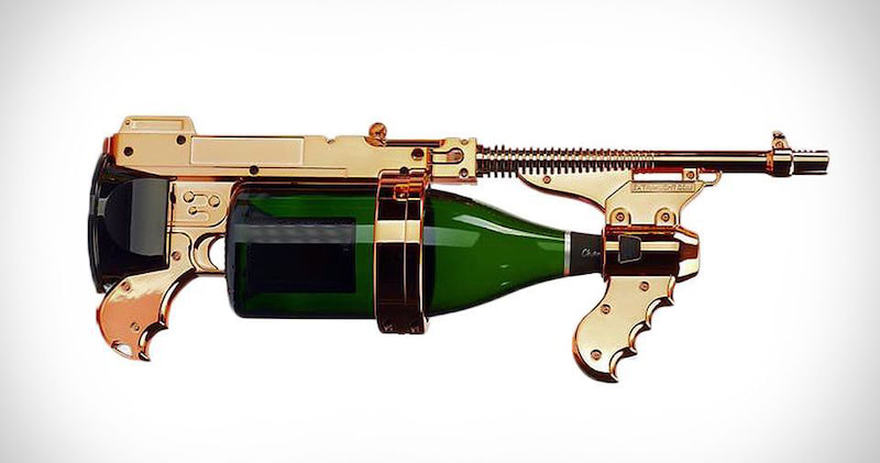 Bubbly Blaster Champagne Gun Sprayer