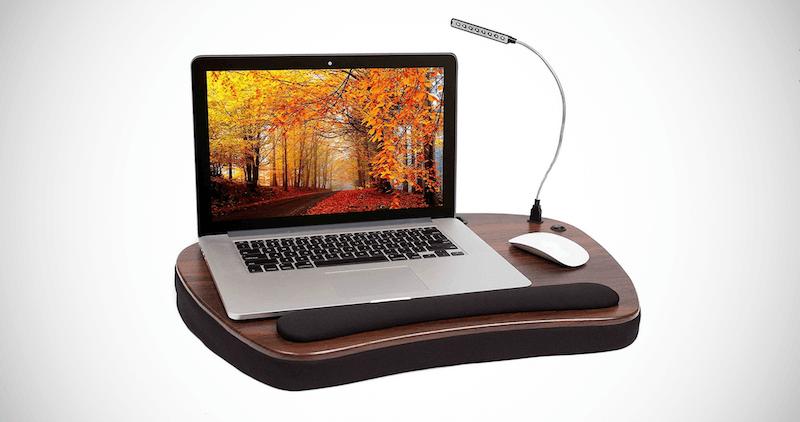 Sofia Sam Oversized Wood Laptop Desk
