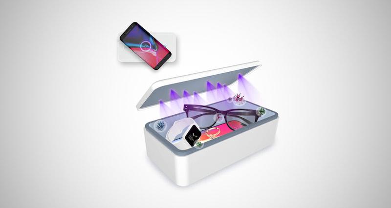 Cahot Fast UV Light Sanitizer Box