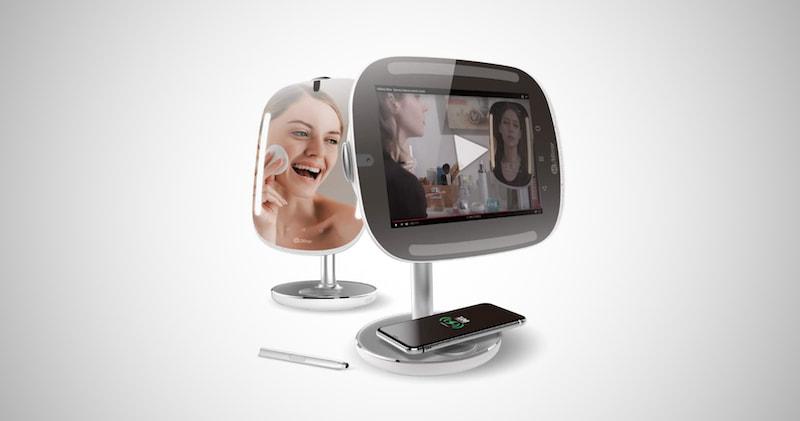 Smart Beauty Mirror with Skin Analyzer