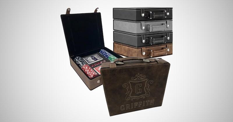 Personalized Poker Set Case