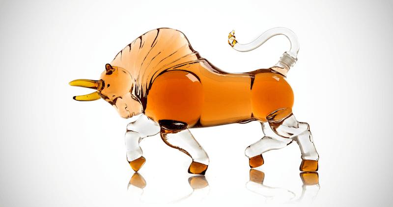Spanish Bull Whiskey Decanter