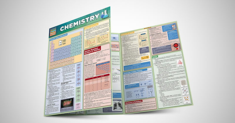 Quick Study Academic Chemistry Cards