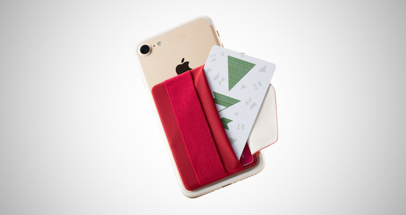 Stick-On Phone Wallet