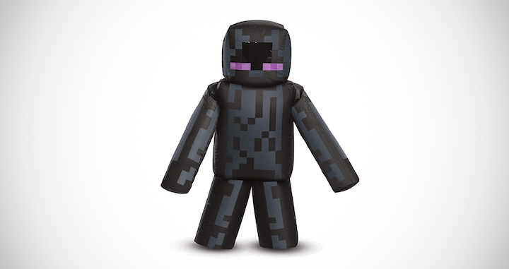 Kid's Minecraft Inflatable Enderman Costume