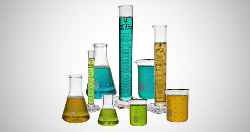 Beaker, Flask & Cylinder Set