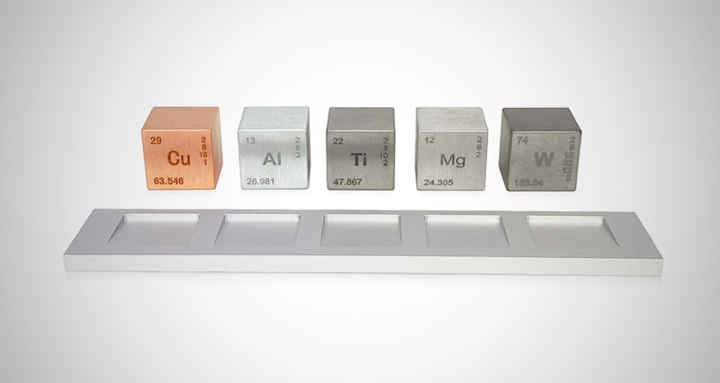 "Element 1"" Cube Set"