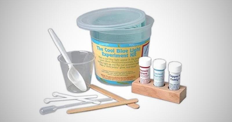 The Cool Blue Light Experiment Kit