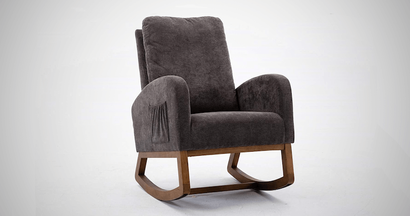 UNIE Wood Rocking Chair