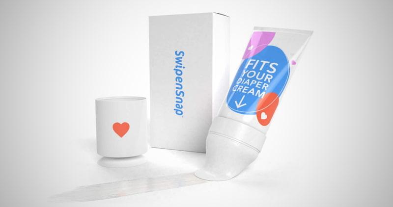 SwipenSnap Diaper Cream Applicator