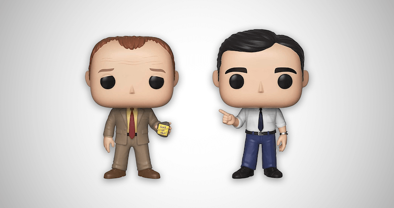 Toby Vs Michael Funko Pop!