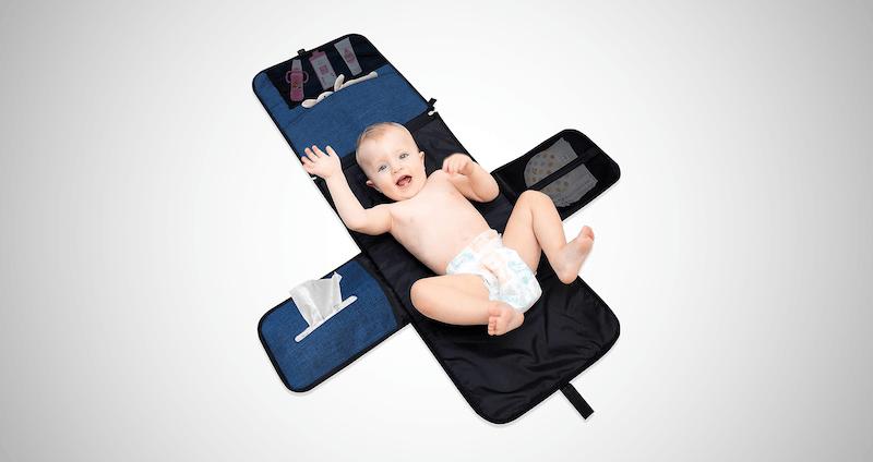 Portable Changing Pad Diaper Bag