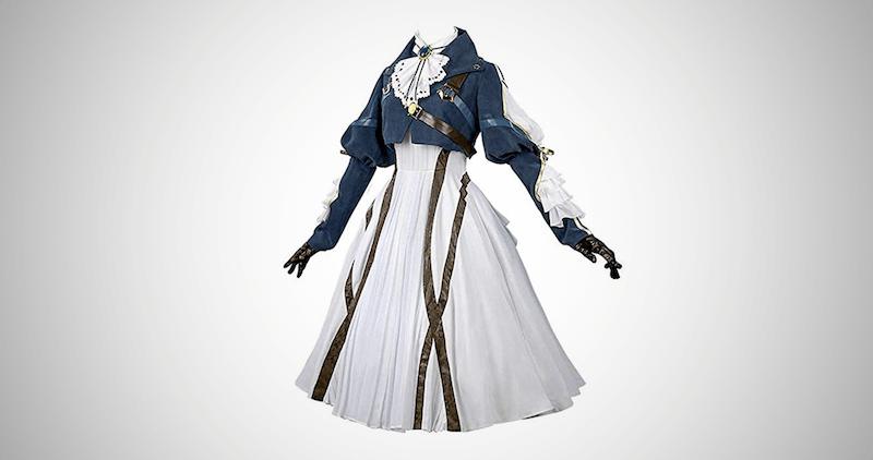 Violet Evergarden Cosplay Dress