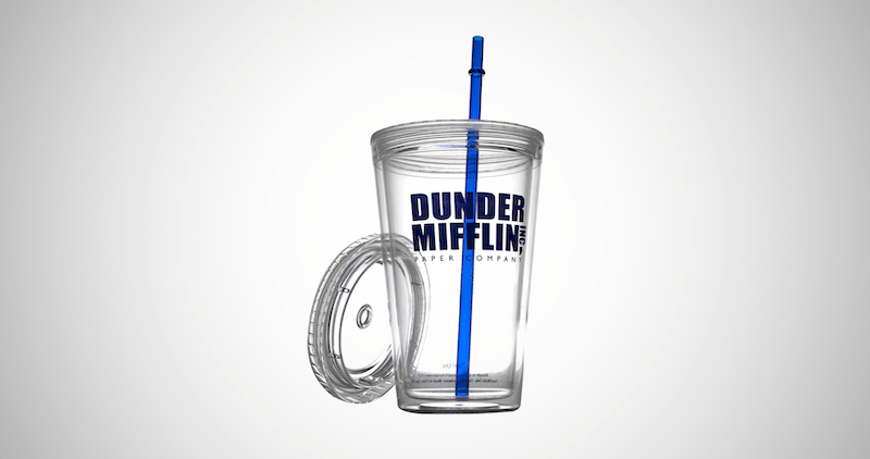 Dunder Mifflin Insulated Tumbler Cup