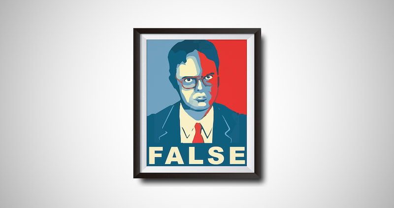 Dwight Schrute Funny Quote Poster