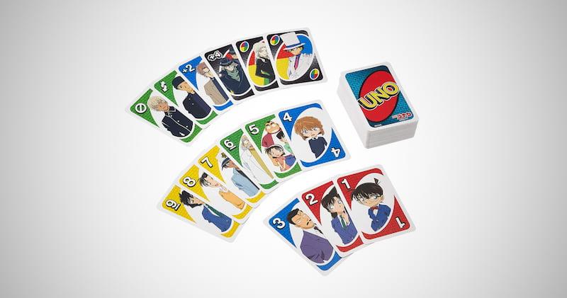Conan Uno Detective Card Game