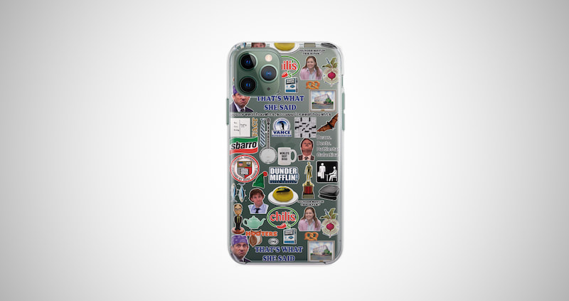 The Office Themed Phone Case
