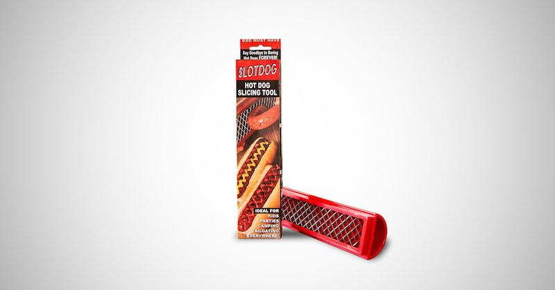 Hot Dog Slicing Tool