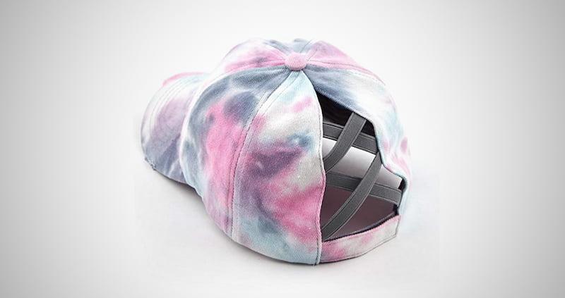 Girl's Ponytail Criss Cross Hat