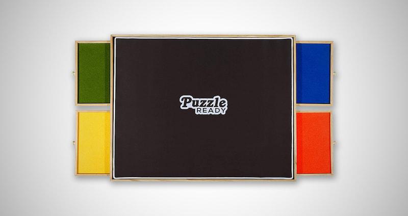 Portable Puzzle Board & Storage Table