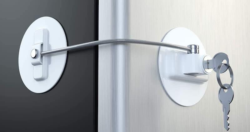 Mini Refrigerator Door Lock