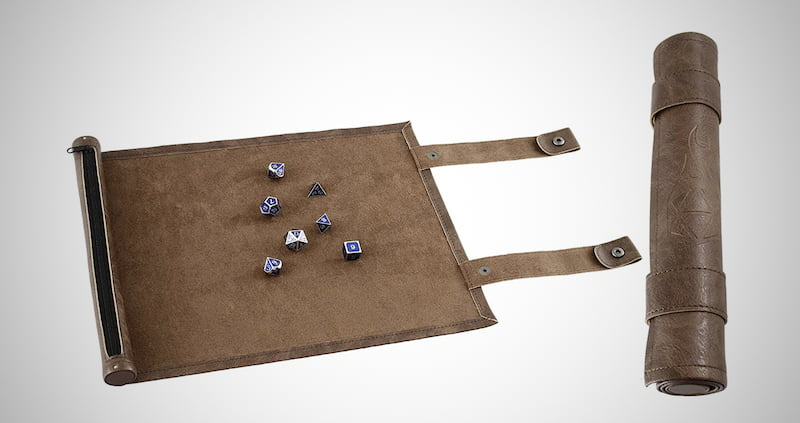 Zippered Dice Rolling Mat