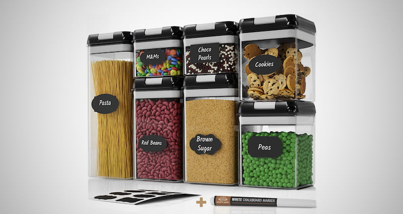 Chef's Path Airtight Food Storage
