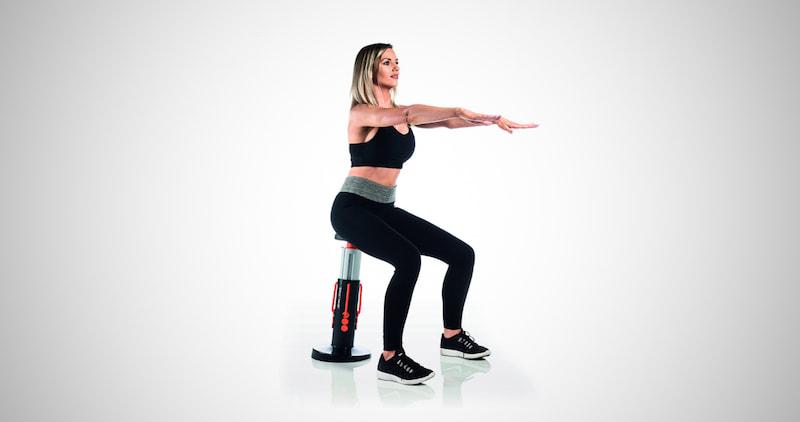 Squat Magic Home Gym Workout