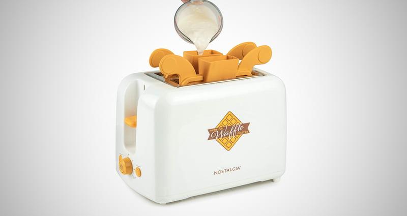 Nostalgia Vertical Waffle Maker