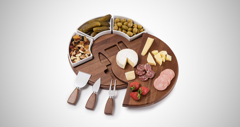 Shanik Upgraded Cheese Cutting Board Set