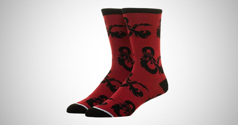 Dungeons and Dragons Socks